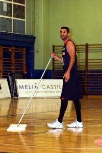 Líder total. Foto de la preparación del Eurobasket