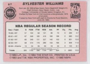 Sus estadísticas en NBA