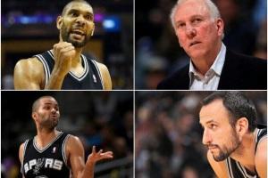 Cuatro líderes