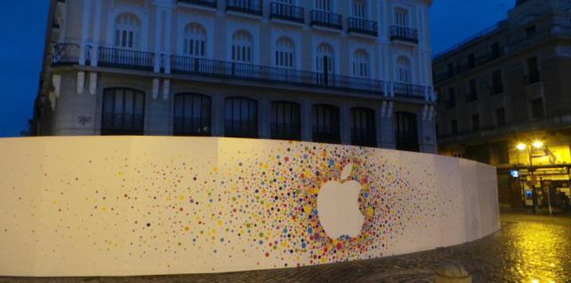 Apple en Sol. Foto Carlos Hergueta . www.portaltic.com