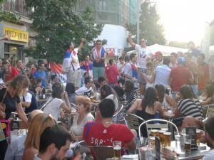 Las hordas serbias